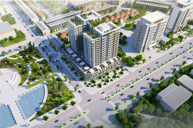 Cấm bán căn hộ có hướng ban công về trụ sở tỉnh uỷ cho người nước ngoài - 1