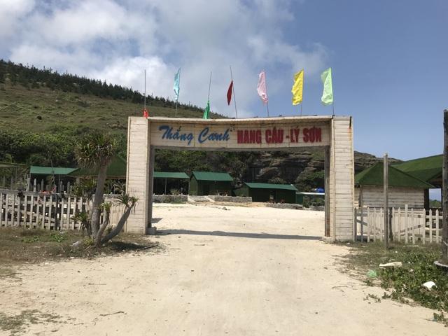 Quảng Ngãi: Công trình trái phép xâm lấn thắng cảnh hang Câu - 3