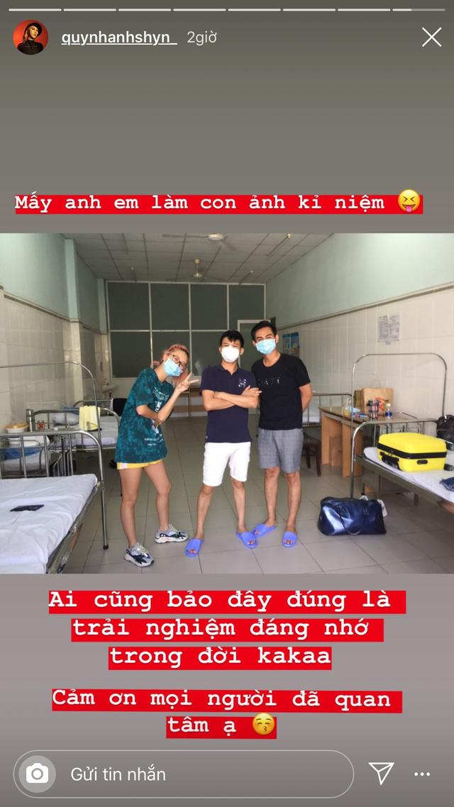 Quỳnh Anh Shyn vui mừng thông báo được về nhà sau khi cách ly 3 ngày - 2