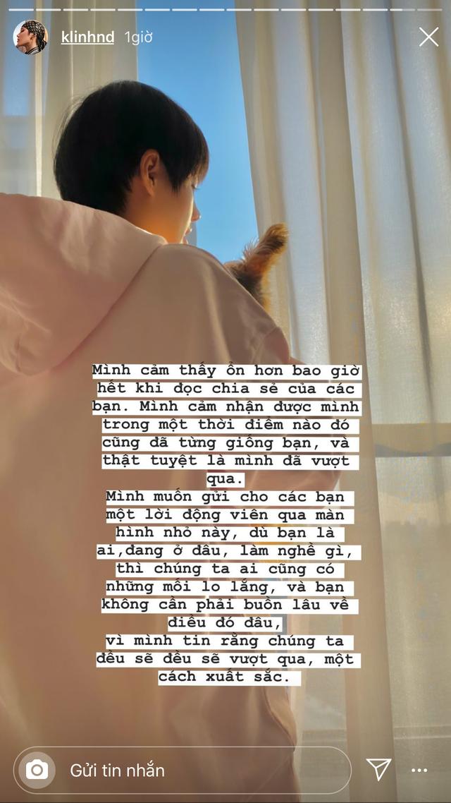 Fashionista Khánh Linh nhận ra ý nghĩa của những ngày cách ly sống chậm - 3