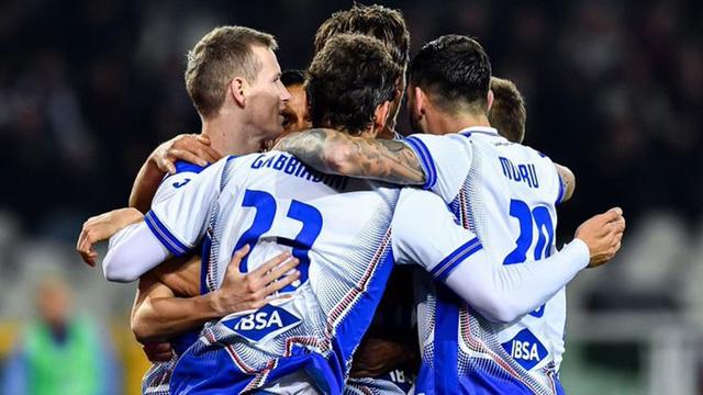 Sampdoria có 7 cầu thủ dương tính với Covid-19 - 1