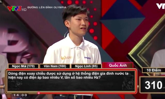 Nam sinh Đắk Lắk giành vé chơi Chung kết năm Olympia với số điểm cao - 1