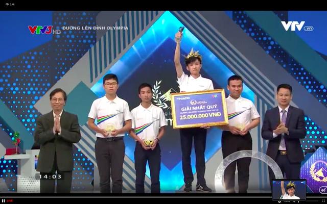 Nam sinh Đắk Lắk giành vé chơi Chung kết năm Olympia với số điểm cao - 2
