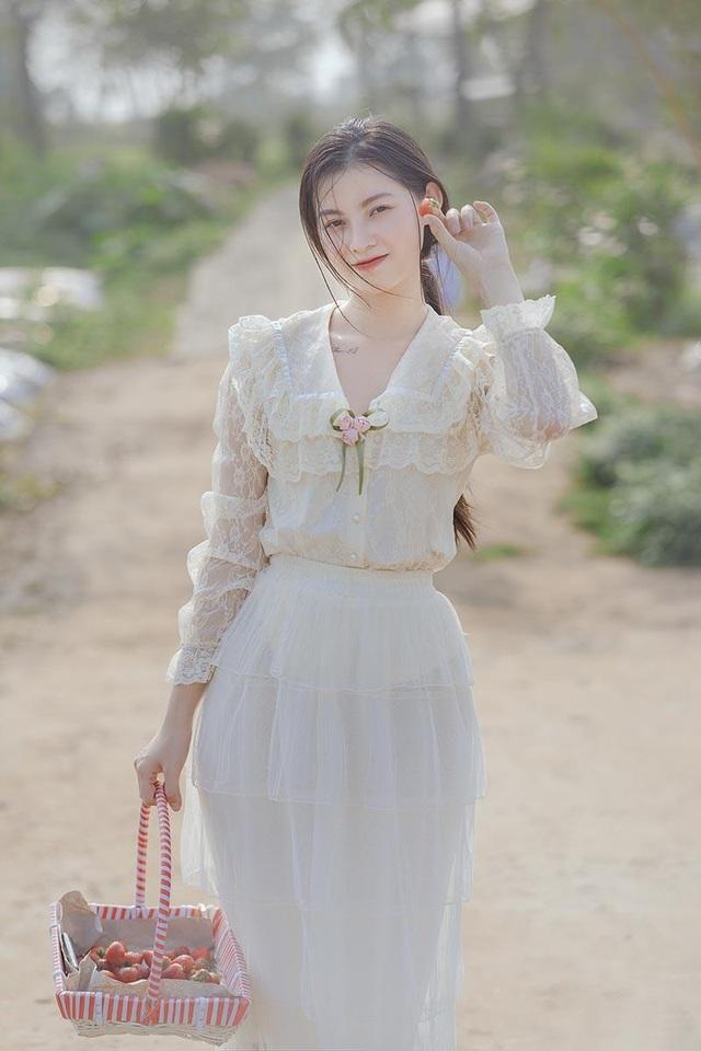 Xao xuyến vẻ đẹp trong veo như sương mai của cô gái Bắc Giang - 6