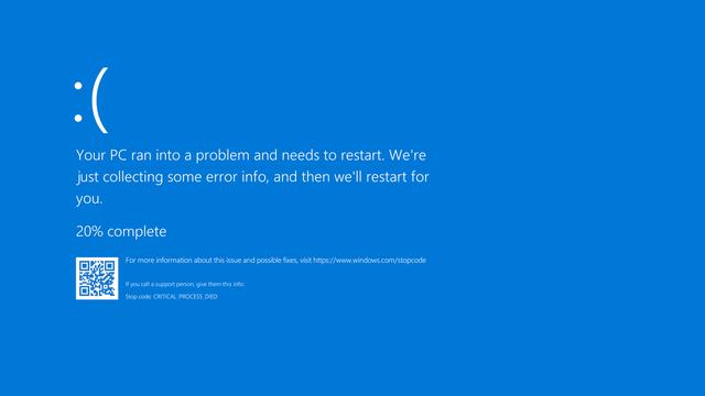 Windows 10 gặp lỗi màn hình xanh sau khi cập nhật - 1