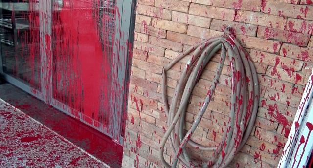 Truy tìm thanh niên bịt mặt nửa đêm tạt sơn 3 ngôi nhà - 3