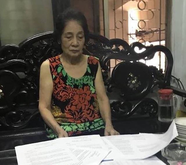 Hà Nội: Cụ bà 78 tuổi gần 10 năm đi kiện đòi một sự thật… hiển nhiên! - 3