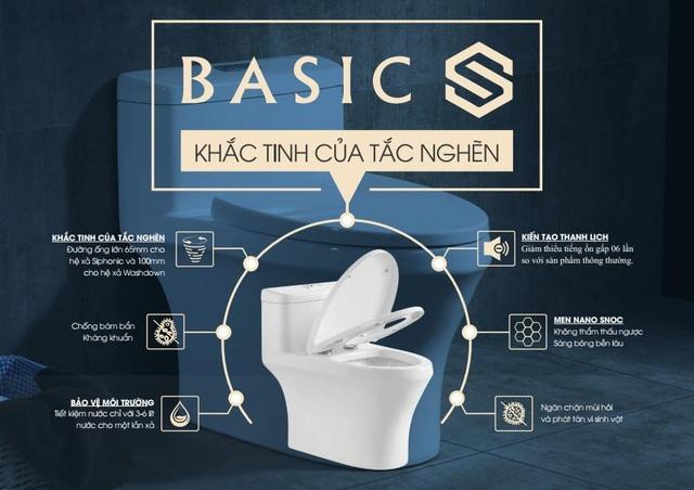 Basics Vietnam mang đến thiết bị vệ sinh tốt nhất cho mọi công trình - 3