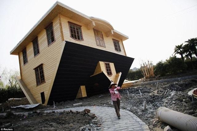 Độc đáo những ngôi nhà lộn ngược - 3