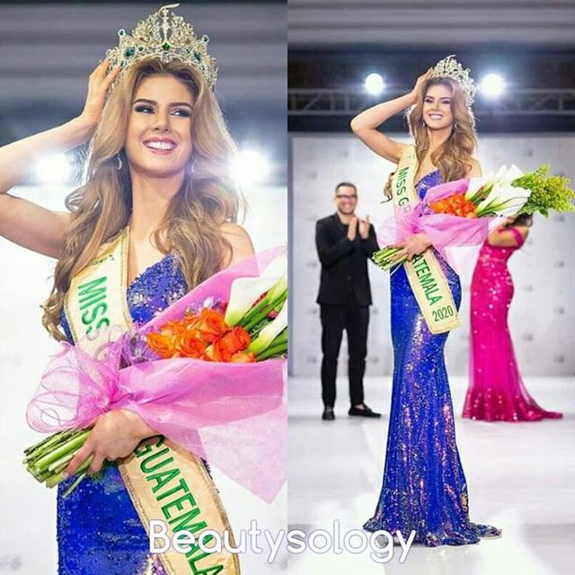 Nhan sắc yêu kiều của tân hoa hậu Guatemala - 3