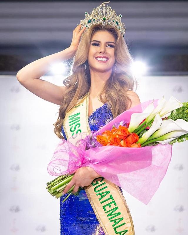 Nhan sắc yêu kiều của tân hoa hậu Guatemala - 1