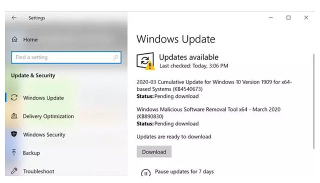 Windows 10 gặp lỗi màn hình xanh sau khi cập nhật - 2