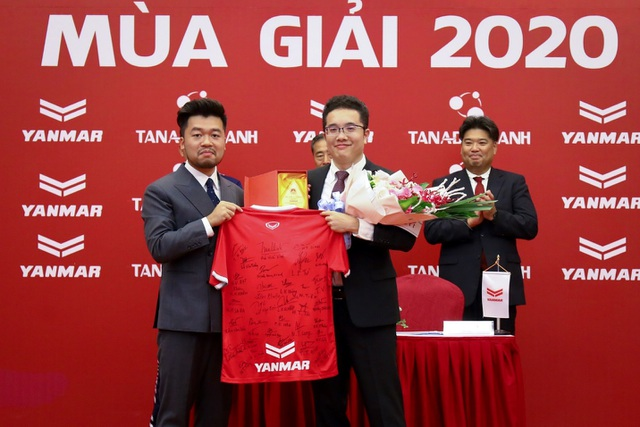 Yanmar là nhà tài trợ vàng cho câu lạc bộ bóng đá Phố Hiến, Hưng Yên - 1