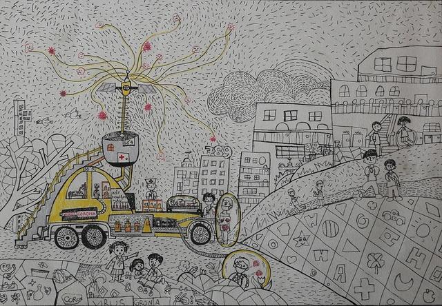 """160 Thí sinh """"nhí"""" xuất sắc đạt giải tại Cuộc thi vẽ tranh Quốc tế Toyota - 1"""