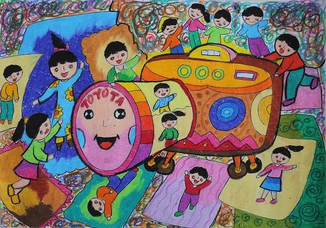 """160 Thí sinh """"nhí"""" xuất sắc đạt giải tại Cuộc thi vẽ tranh Quốc tế Toyota - 2"""