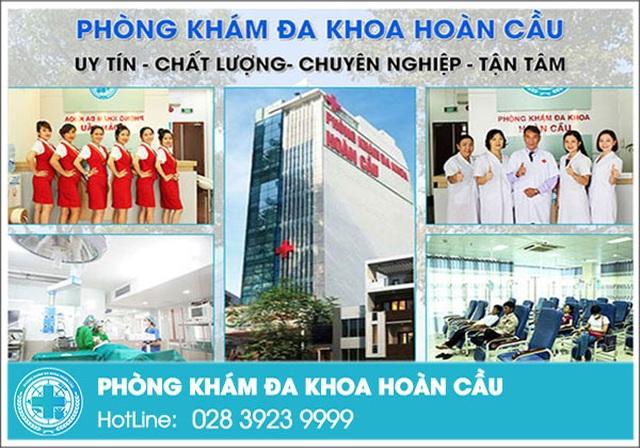 """Phòng khám đa khoa Hoàn Cầu - Địa chỉ """"vàng"""" chăm sóc sức khỏe toàn diện - 1"""