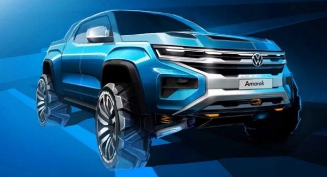 Bán tải VW Amarok thế hệ mới sẽ dùng chung khung gầm với Ford Ranger - 1