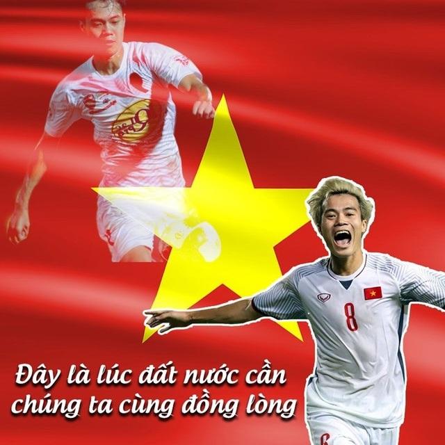 HLV Park Hang Seo cùng tuyển thủ Việt Nam tuyên chiến với Covid-19 - 3