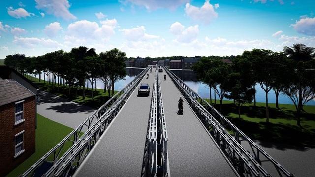 Cầu sắt chưa xong, giá đất quanh bến phà An Phú Đông đã tăng mạnh - 1