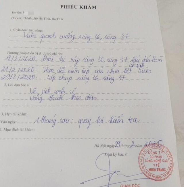 Vụ khách hàng tố phòng khám nha khoa Phúc Minh: Lòi ra nhiều sai phạm - 2