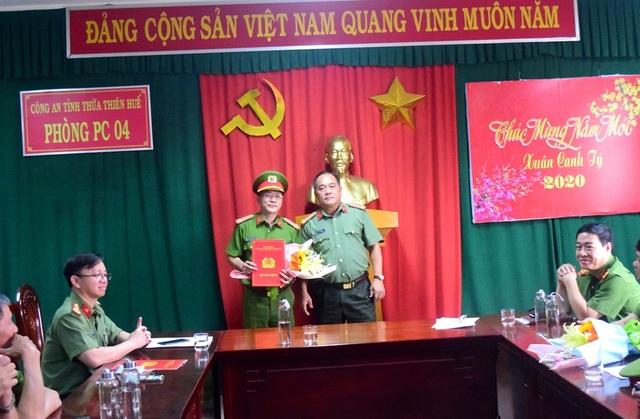 Điều động, bổ nhiệm hàng loạt cán bộ Công an tỉnh Thừa Thiên Huế - 3