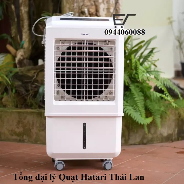 """Quạt hơi nước Hatari Turbo AC33r1 Thái Lan """"khắc tinh""""của nắng nóng - 1"""