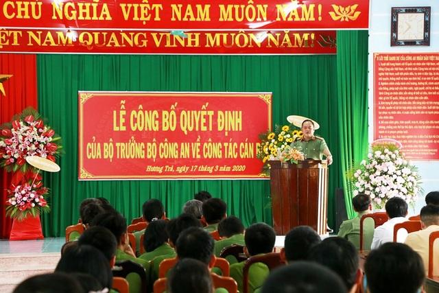 Điều động, bổ nhiệm hàng loạt cán bộ Công an tỉnh Thừa Thiên Huế - 1