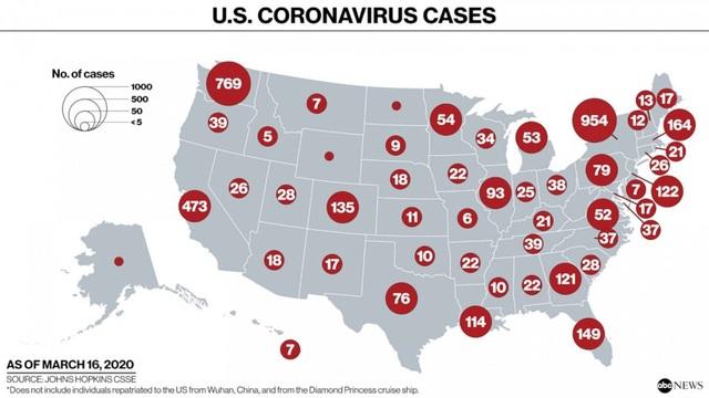 Mỹ đứng trước nguy cơ trở thành Italia thứ hai do dịch Covid-19 - 2