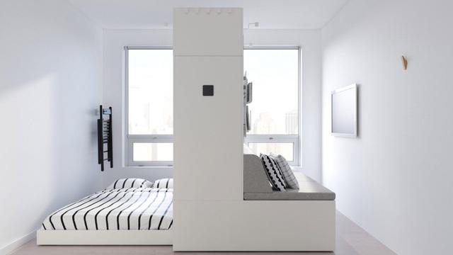 Màn biến hóa không tưởng của những nội thất thông minh cho căn nhà nhỏ - 1