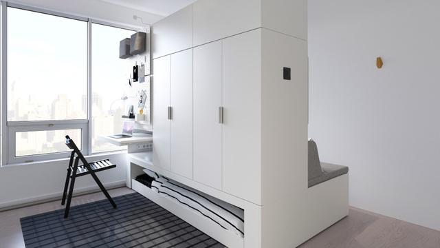 Màn biến hóa không tưởng của những nội thất thông minh cho căn nhà nhỏ - 4
