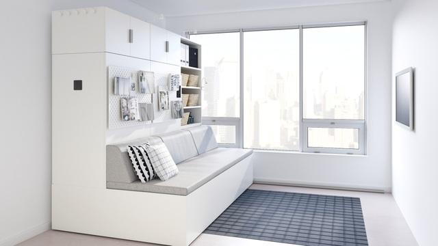 Màn biến hóa không tưởng của những nội thất thông minh cho căn nhà nhỏ - 5