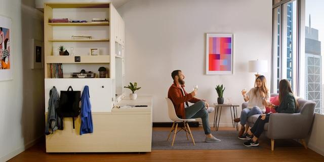 Màn biến hóa không tưởng của những nội thất thông minh cho căn nhà nhỏ - 9