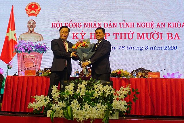 Nguyên Thứ trưởng KH-ĐT được bầu làm Chủ tịch UBND tỉnh Nghệ An - 1