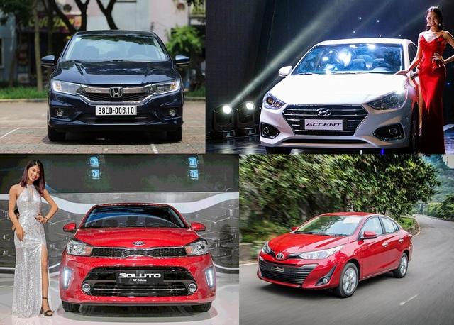 Cạnh tranh phân khúc sedan hạng B: Xe nào cho lái mới , và dịch vụ vận tải? - 1