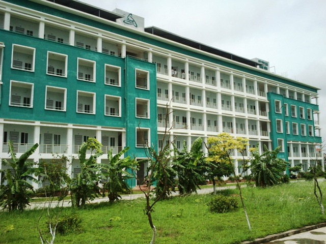 Trường CĐ Y Dược ASEAN tình nguyện đưa ký túc xá 500 chỗ làm khu cách ly - 1