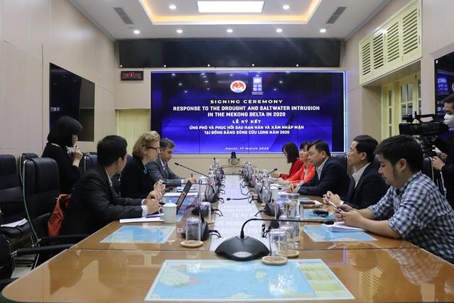UNDP hỗ trợ khẩn cấp 185.000 USD cho ĐBSCL chống hạn, mặn - 1