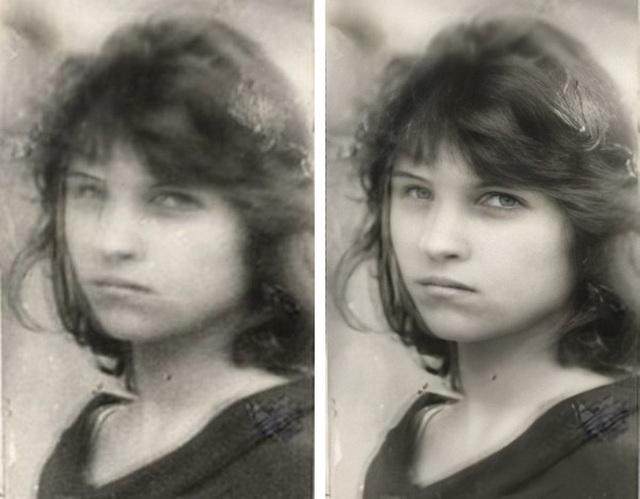 """Tuyệt chiêu biến ảnh cũ, mờ hoặc nhòe thành những bức ảnh """"căng nét"""" - 5"""