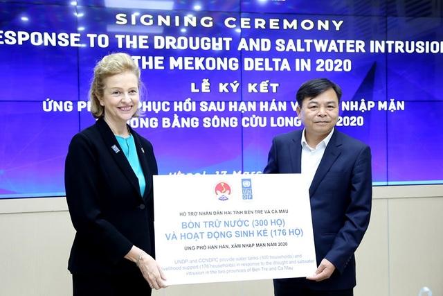 UNDP hỗ trợ khẩn cấp 185.000 USD cho ĐBSCL chống hạn, mặn - 2