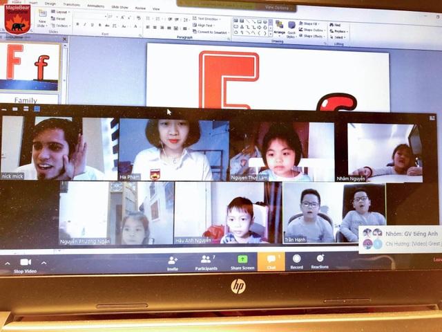 Covid-19: Sunshine Maple Bear hỗ trợ kênh tương tác cho HS Tiền tiểu học - 2