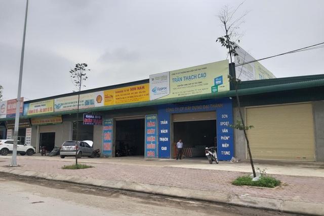 Nghệ An: Công ty vận tải xây hàng loạt ki-ốt không phép cho thuê  - 5