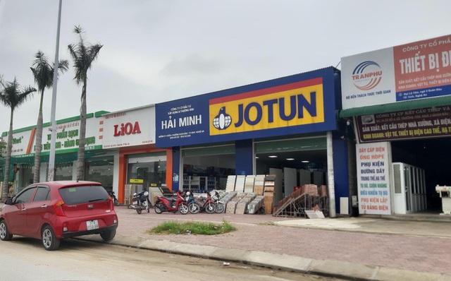 Nghệ An: Công ty vận tải xây hàng loạt ki-ốt không phép cho thuê  - 4