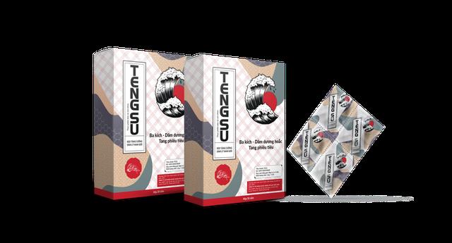 Viên ngậm Tengsu - giải pháp hỗ trợ tăng cường sinh lực kết hợp thành công bột Quy Bản - 1