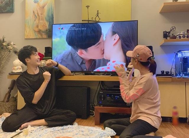 """Phương Oanh nín thở mới dám hôn """"Khoa"""" trong tập cuối """"Cô gái nhà người ta"""" - 5"""