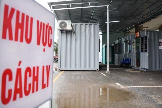 Bệnh viện K lập khu cách ly bằng container trong thời dịch Covid-19 - 1