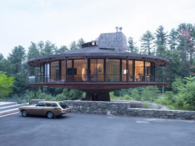 """Thú vị ngôi nhà kiểu """"tổ chim"""" có thể xoay 360 độ - 1"""