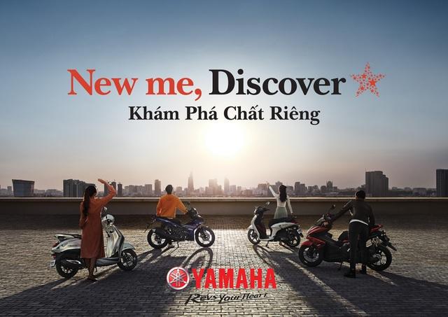 """""""New me, Discover"""" - Khám phá chất riêng cùng Yamaha - 1"""