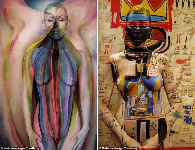 """Người mẫu khỏa thân """"nhập vào"""" những siêu phẩm hội họa - 2"""
