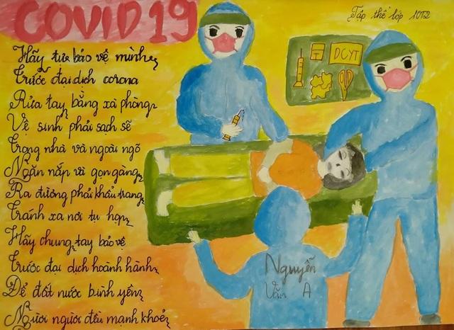"""Lan tỏa cuộc thi vẽ tranh phòng, chống dịch bệnh Covid-19"""" - 8"""