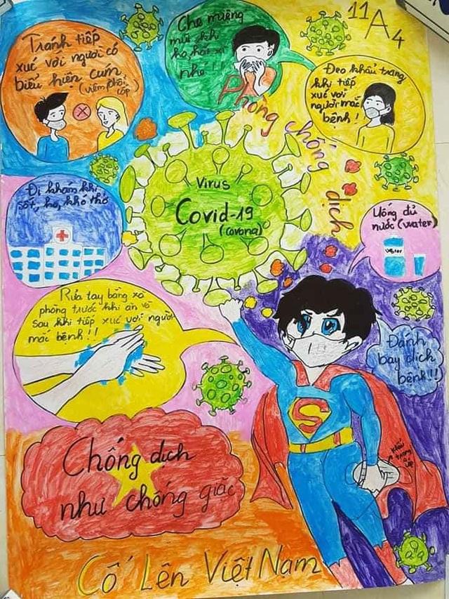 """Lan tỏa cuộc thi vẽ tranh phòng, chống dịch bệnh Covid-19"""" - 5"""