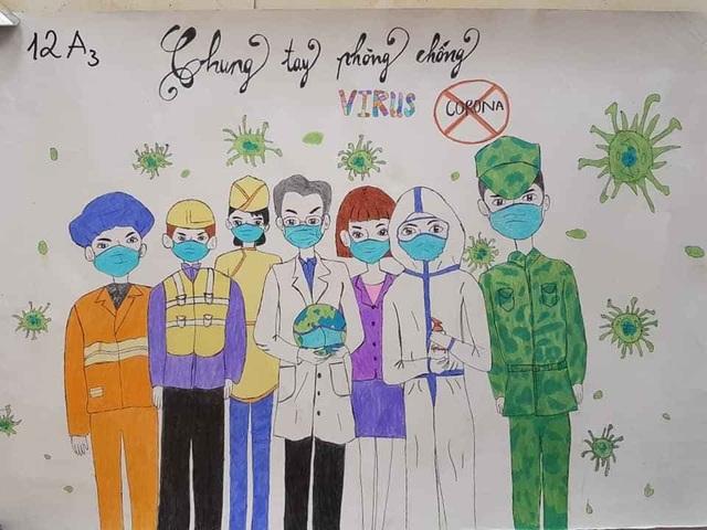 """Lan tỏa cuộc thi vẽ tranh phòng, chống dịch bệnh Covid-19"""" - 7"""